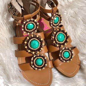 Gladiator sandals EUC
